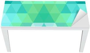 Adesivo per Tavolo & Scrivania Mosaico triangolo sfondo. sfondo geometrico