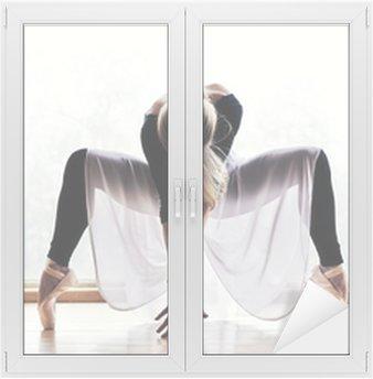 Adesivo per Vetri & Finestre Ballet dancer