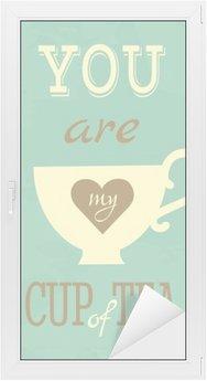 Adesivo per Vetri & Finestre Carta di San Valentino