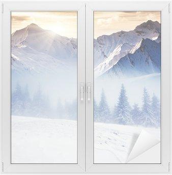 Adesivo per Vetri & Finestre Invernali
