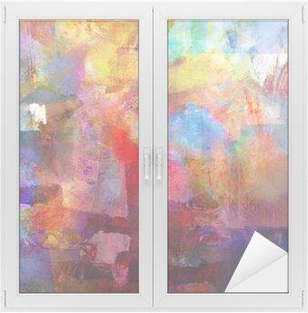 Adesivo per Vetri & Finestre Pittura texture
