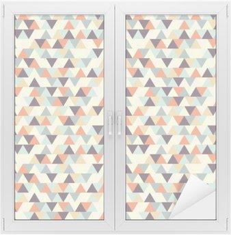 Adesivo per Vetri & Finestre Seamless pattern geometrici