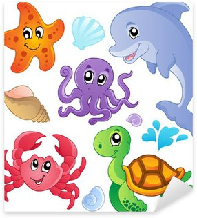 Pixerstick per Tutte le Superfici Pesci del mare e la raccolta degli animali 3