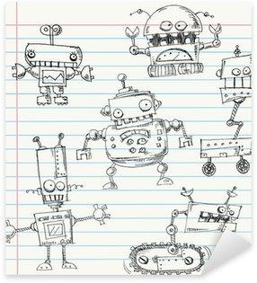 Pixerstick per Tutte le Superfici Robot scarabocchi