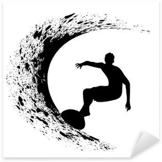 Pixerstick per Tutte le Superfici Sagome di surfisti