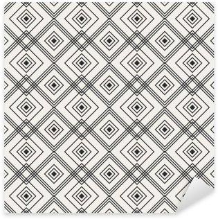 Adesivo Pixerstick Seamless pattern geometrici