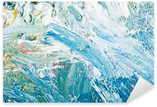 Pixerstick per Tutte le Superfici Sfondo dipinto astratto opere d'arte