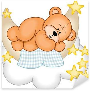 Pixerstick per Tutte le Superfici Sweet Dreams Teddy Bear