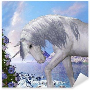 Pixerstick per Tutte le Superfici Unicorn e Blue Bell Fiori