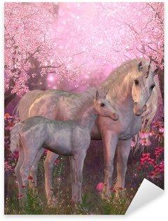 Pixerstick per Tutte le Superfici White Unicorn Mare e Foal