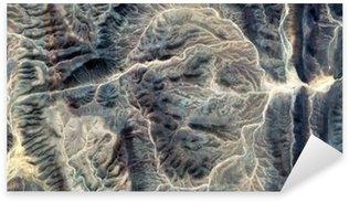 Pixerstick para Todas Superfícies A Múmia, paisagens abstratas de desertos da África, rosto de pedra, abstrato desertos fotografia da África do ar, surrealismo abstrato, miragem no deserto, fantasia de pedra, o expressionismo abstrato