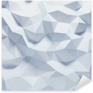 Pixerstick para Todas Superfícies Abstract faceted geometric paper background