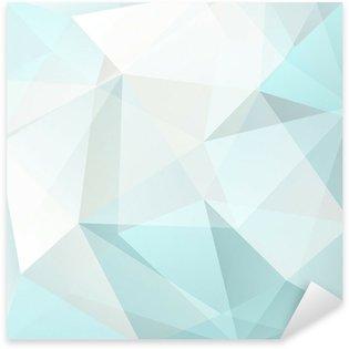 Pixerstick para Todas Superfícies abstract triangle background, vector