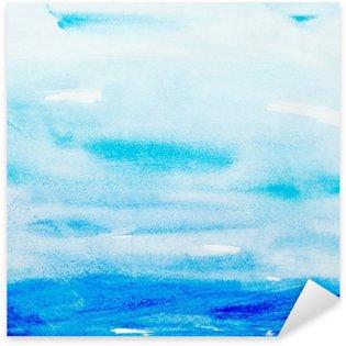 Pixerstick para Todas Superfícies color strokes watercolor painting art