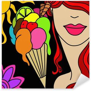 Pixerstick para Todas Superfícies cone gelato