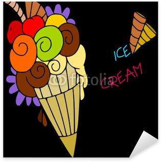 Pixerstick para Todas Superfícies cono gelato