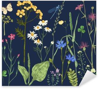 Pixerstick para Todas Superfícies Desenho definido com ervas e flores