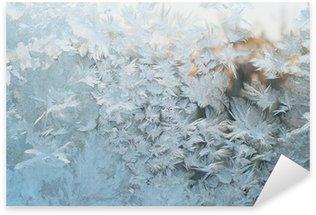 Pixerstick para Todas Superfícies Frozen window, Christmas background