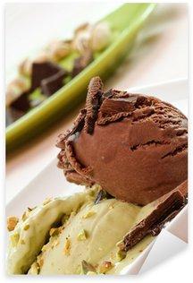 Pixerstick para Todas Superfícies Gelato cioccolato e pistacchio, close-up