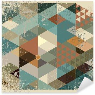 Pixerstick para Todas Superfícies geometric background