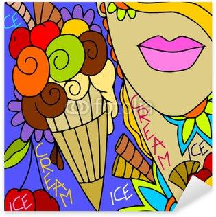 Pixerstick para Todas Superfícies ice cream