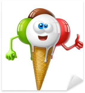 Pixerstick para Todas Superfícies icecream italy