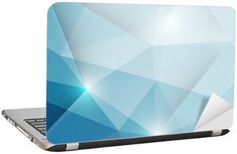 Adesivo para Notebook Abstract geometric triangles background
