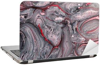 Adesivo para Notebook Abstrato pintura