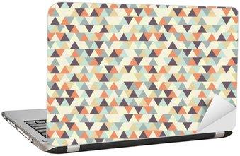 Adesivo para Notebook Padrão geométrico sem emenda.