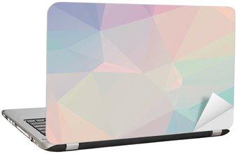 Adesivo para Notebook Pastel Polygon Geometric