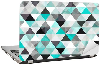 Adesivo para Notebook turquoise shiny vector background