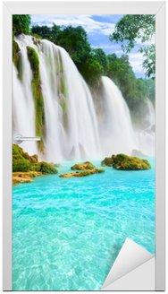 Adesivo para Porta Detian waterfall