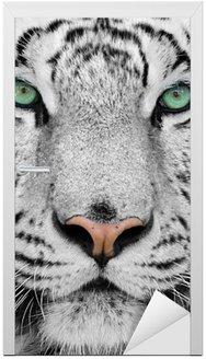 Adesivo para Porta white tiger