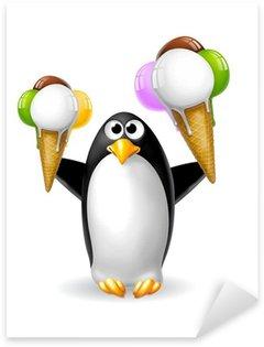 Pixerstick para Todas Superfícies pinguino 2 gelati