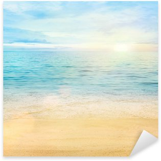 Pixerstick para Todas Superfícies Sea and sand background