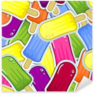 Pixerstick para Todas Superfícies Seameless icicles