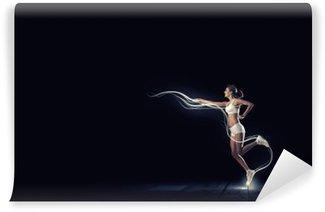 Afwasbaar Fotobehang Op volle snelheid