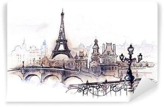 Afwasbaar Fotobehang Paris (reeks C)