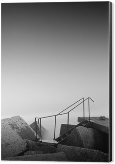 steps to nowhere Aluminium Print (Dibond)
