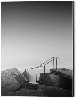 steps to nowhere Aluminium Print (Dibond)