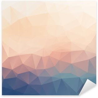 Pixerstick Aufkleber Abstrakt poligonal strukturierten Hintergrund.