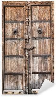 Pixerstick Aufkleber Alte Holztür