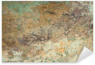 Pixerstick Aufkleber Alte Steinmauer Textur Hintergrund.