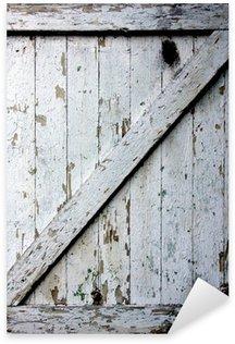 Pixerstick Aufkleber Alte Tür