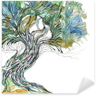 Pixerstick Aufkleber Alten Baum