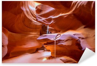 Pixerstick Aufkleber Antelope Canyon Arizona auf der Navajo-Land nahe Seite