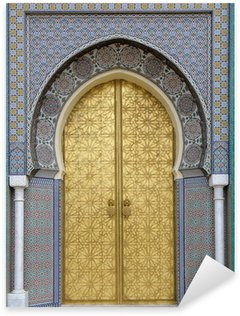 Pixerstick Aufkleber Antike Türen, Marokko
