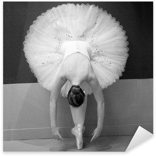 Pixerstick Aufkleber Balletteuse