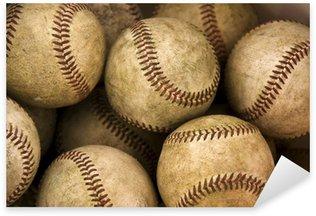 Pixerstick Aufkleber Baseballs