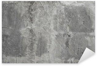 Pixerstick Aufkleber Beton Wand